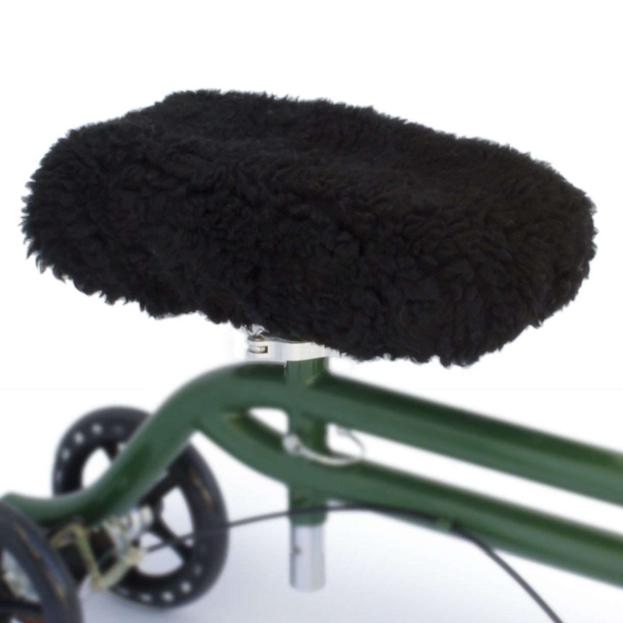 DELUXE Universal Knee Walker Pad Cover (Black) by Top Glides