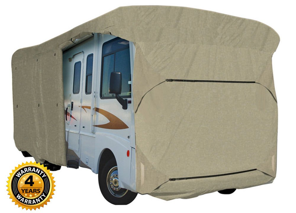 Waterproof RV Cover Motorhome Camper Travel Trailer 38 39 40 Class A B C