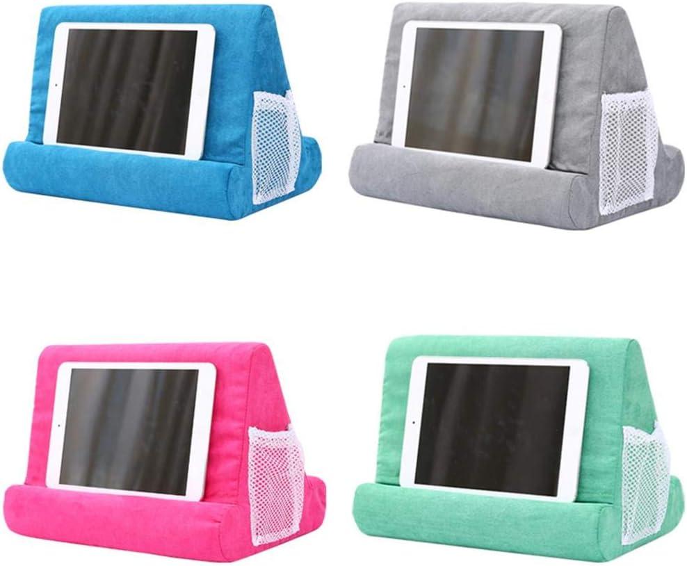 fancyU Supporto per Cuscino Multi-Supporto per Tablet Cuscino per Telefono Portatile Supporto per Lap Supporto per Cuscino Morbido Supporto per Telefono Cellulare per I-Pad