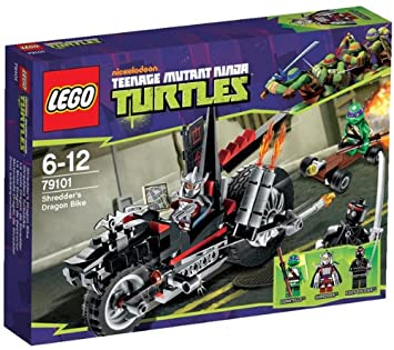 lego teenage mutant ninja turtles 79101 shredder s dragon bike