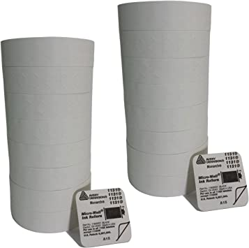 White One-Line -SINGLE ROLL 2,500 Labels Pricemarker Labels for Monarch 1131