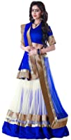 Advait Cotton Women's Lehenga Choli and Dupatta Set (AEDBL_0200_Multi-Colored_Free Size)