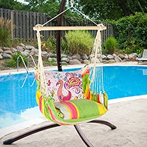 Magnolia Casual Flamingo Hammock Chair & Pillow Set