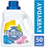 Woolite Everyday, Laundry Detergent, Mega Value Pack, 2.96 L, With Colour Renew - Clothes Look New Longer