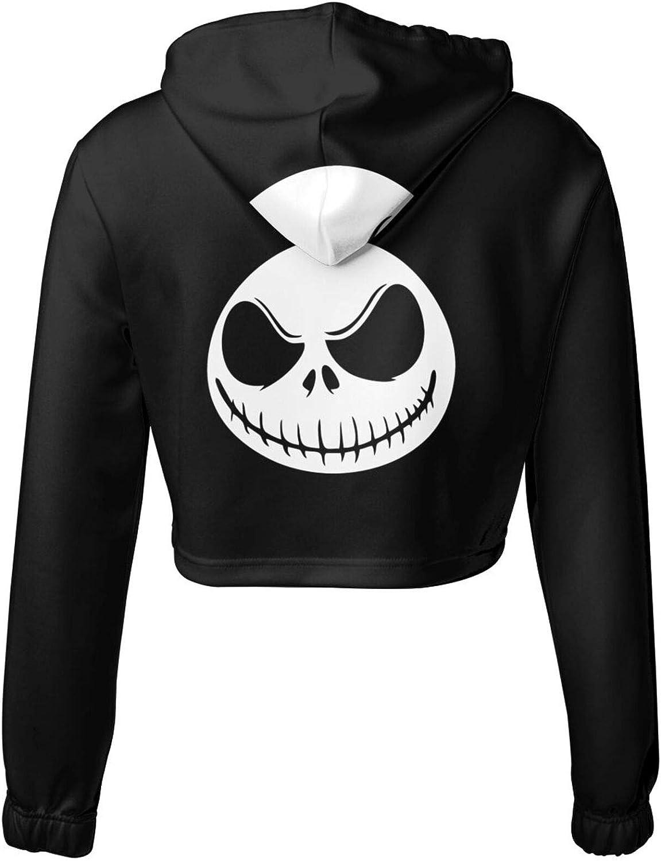 BSUUJCGF Nightmare Before Christmas Womens Sweater Short Sweatshirts for Girls