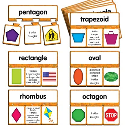 EAI Education Snap Math - 2D Shapes Puzzle: Grades 1-2