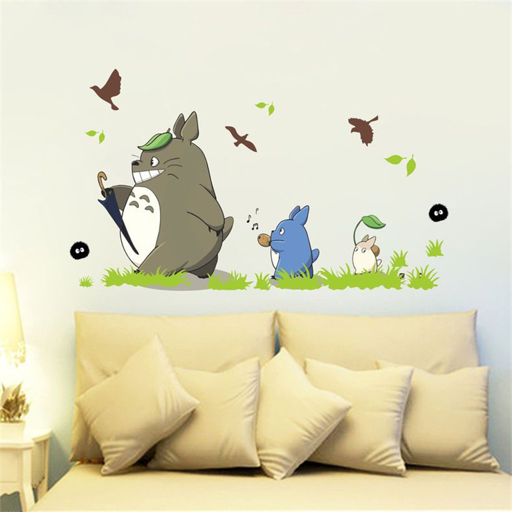 60off Jiquan My Neighbor Totoro Wall Decals Stickers Removable
