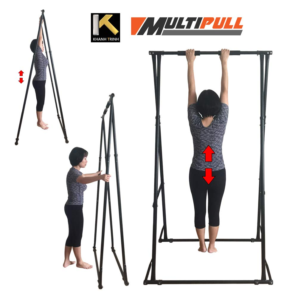 KT Multipull Lumbar Spine Stretcher Machine 1518. The Most Effective and Easy to use Lower Back Stretcher Device. Convenient, Safe and Stronger Spine Stretch Machine
