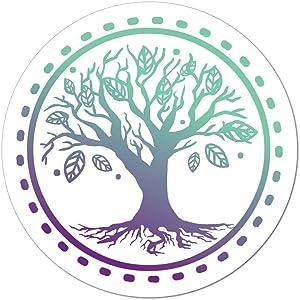 Tree of Life Car Sticker Decal Hippie Mother Nature Earth Spiritual Boho