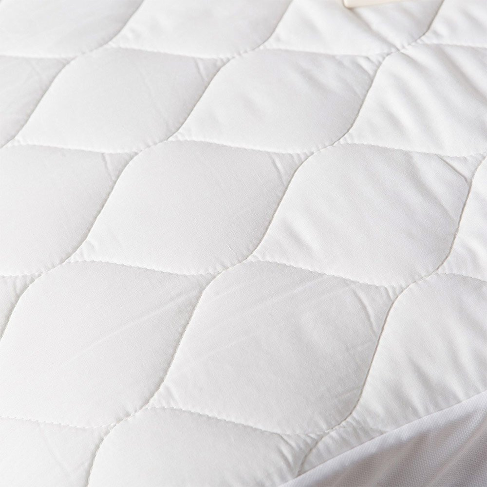 White Overstock Pure Warmth 5203-5051RM-100 Heated Mattress Pad King