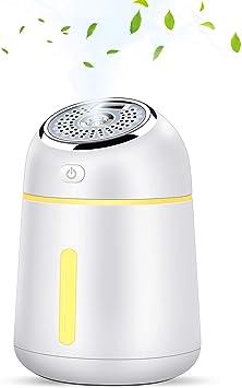 KuoYi 330ml Humidificador Ultrasónico, Difusor de Aromaterapia ...