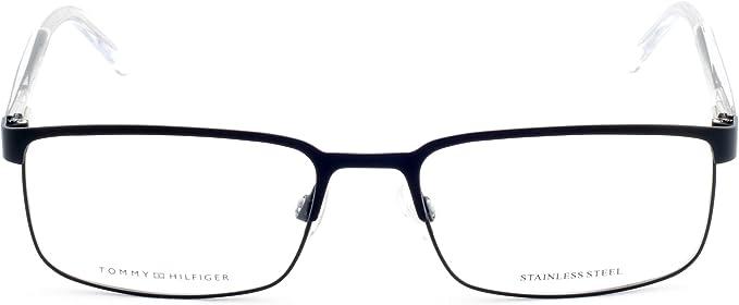 Tommy Hilfiger 1235 Eyeglasses-0FSW Matte Black Crystal 55mm