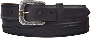product image for Lucchese Men's Calf Leather Seville Stitch Belt - W4201s