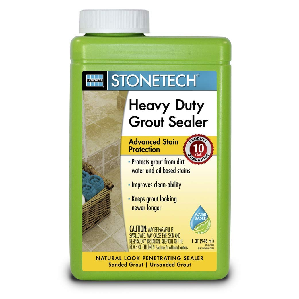 8.StoneTech Heavy Duty Grout Sealer