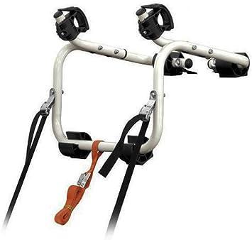 Portabicicletas Porta Bicicletas Trasero para Coche 17 Kg Correas Seguridad 3565: Amazon.es: Coche y moto