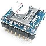 HiLetgo WTV020 Uディスク オーディオ プレーヤー MP3 サウンド モジュール 音声モジュール 共にSDカード UART232