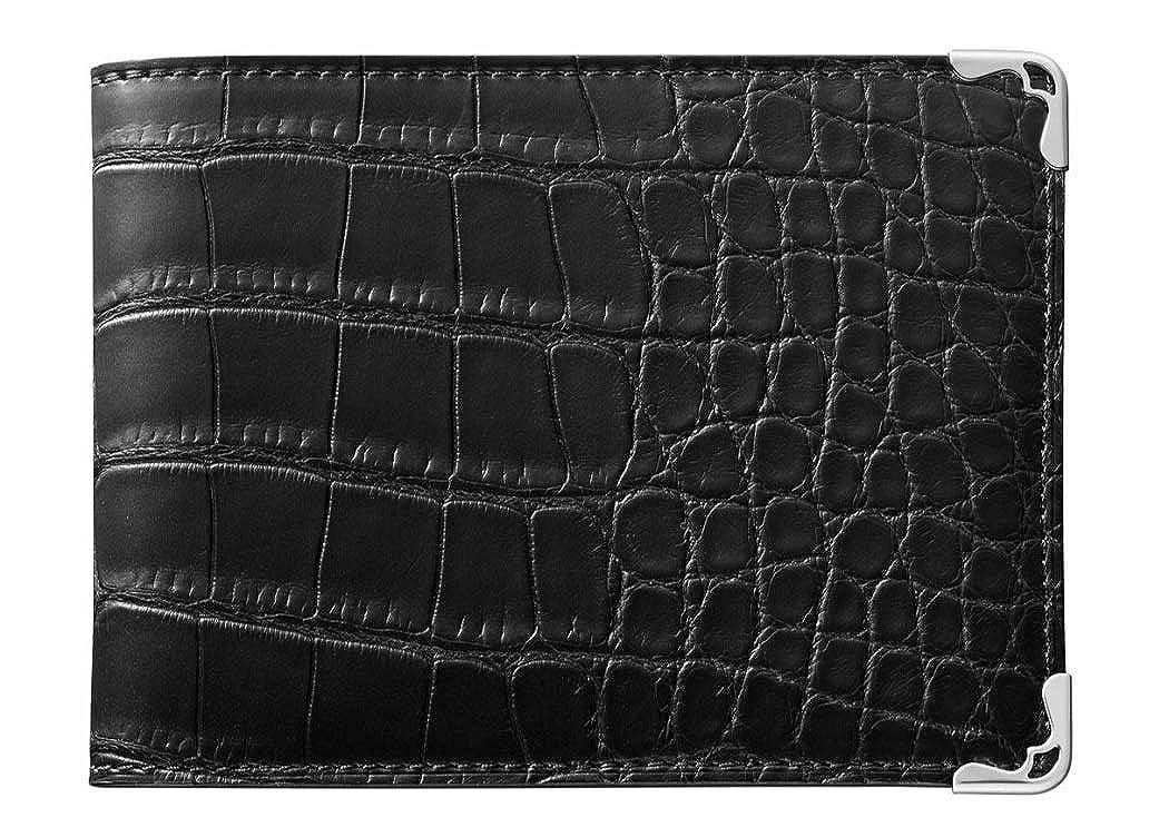 カルティエ cartierメンズ 財布 マスト ドゥ カルティエ 6クレジットカード ワレット 商品 L3001598 B07SPC2D86 ブラック
