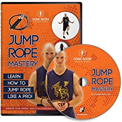 YOU CAN'T BELIEVE YOU JUST ATE THAT WHOLE PIZZA... We can't believe it either, but we've got something that will help you work it right back off! Get your caloric burn on with this fantastic Jump Rope Mastery DVD From Epitomie Fitness!! ALL F...