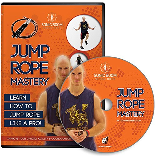 Exercise+DVD Products : Jump Rope MASTERY DVD - Jump Rope DVD With Routines, Exercises & Techniques To Improve Fitness, Agility, Cardio & To Tone Body