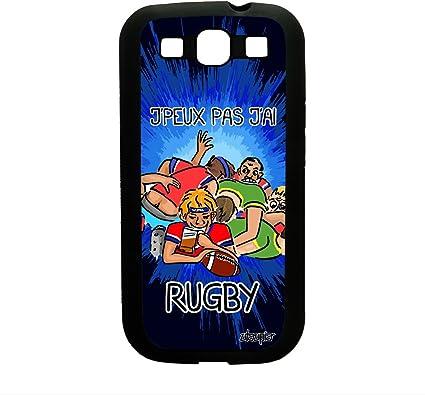utaupia Coque Samsung Galaxy S3 Silicone j'peux Pas J'Ai Rugby Drole Sport TPU Etui 4G a