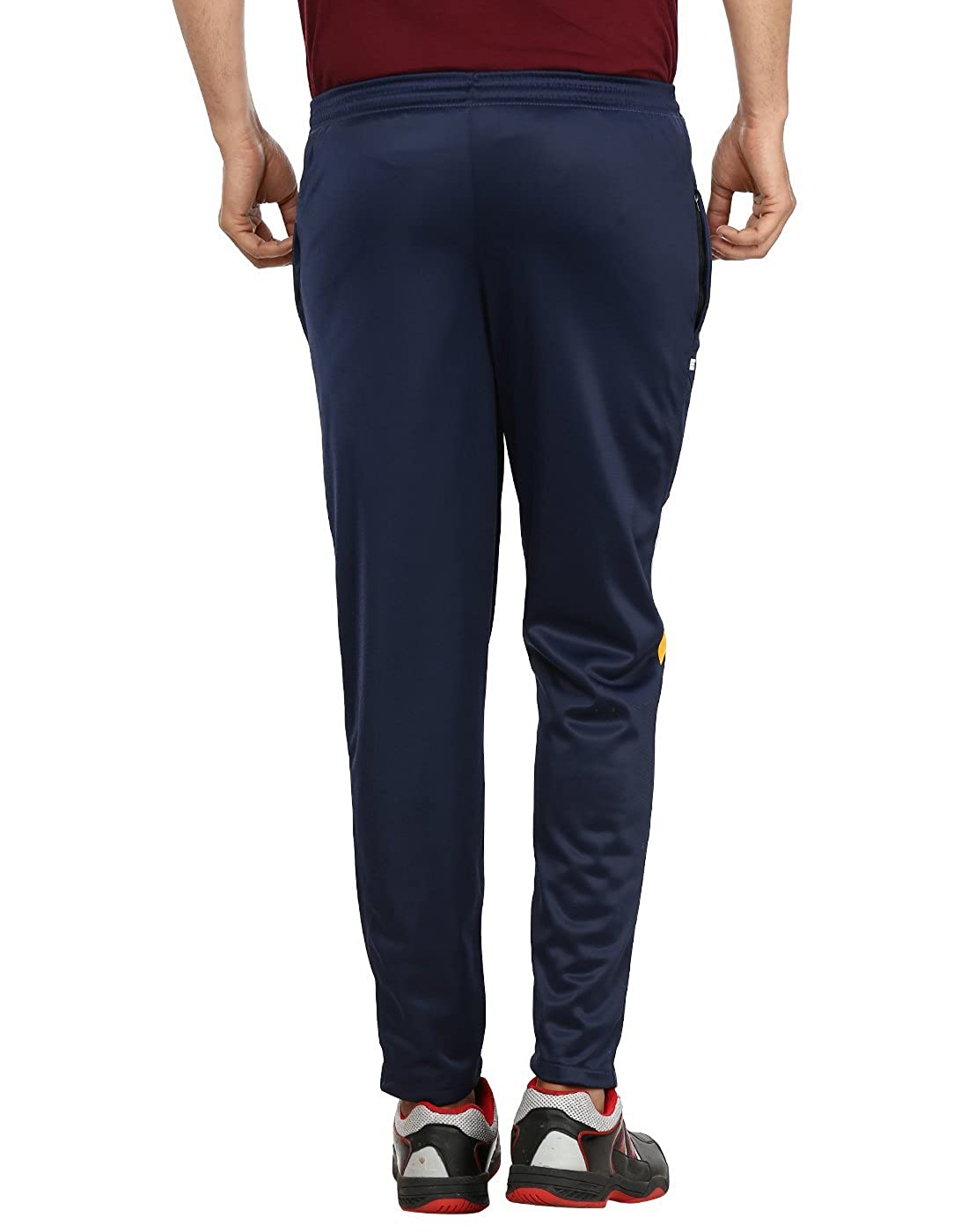 0118ff5382 Gumber Men's Solid Track Pants (Blue, Medium): Amazon.in: Clothing ...