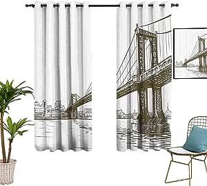 Amazon.com: New York Blackout Curtains and Drapes Digital