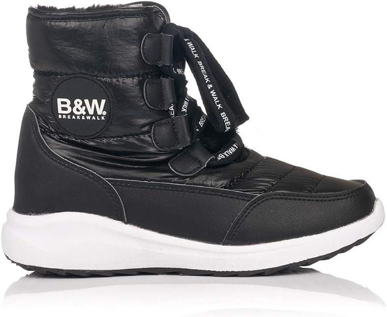 Botas Planas B W 26401 Plata: Amazon.es: Zapatos y complementos