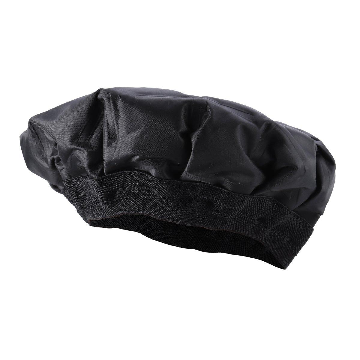 ROSENICE Heat Cap Microwavable Micro Hair Cap Durable Hair Thermal Treatment Cap for Hair Styling (Black)