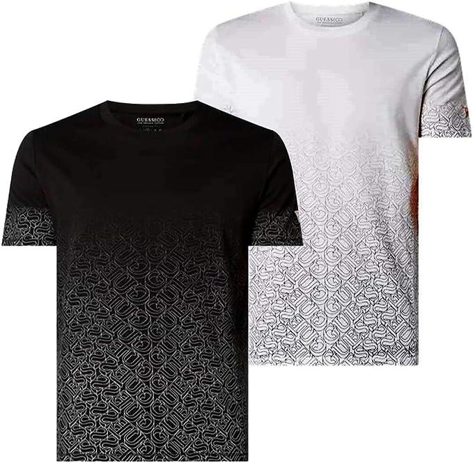 Guess Uomo T Shirt M0GI57 K8HM0 JBLK Nero