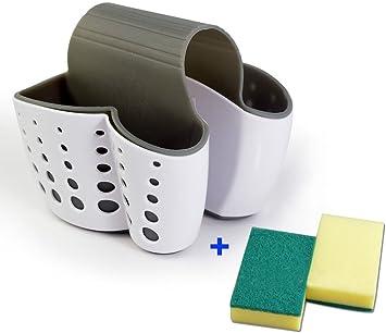 Amazon.com: Tfwadmx Soporte de esponja para fregadero ...