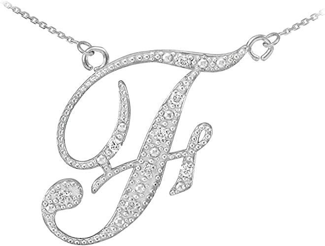 Polished 14K Yellow Gold Initial Letter G Charm Pendant Necklace