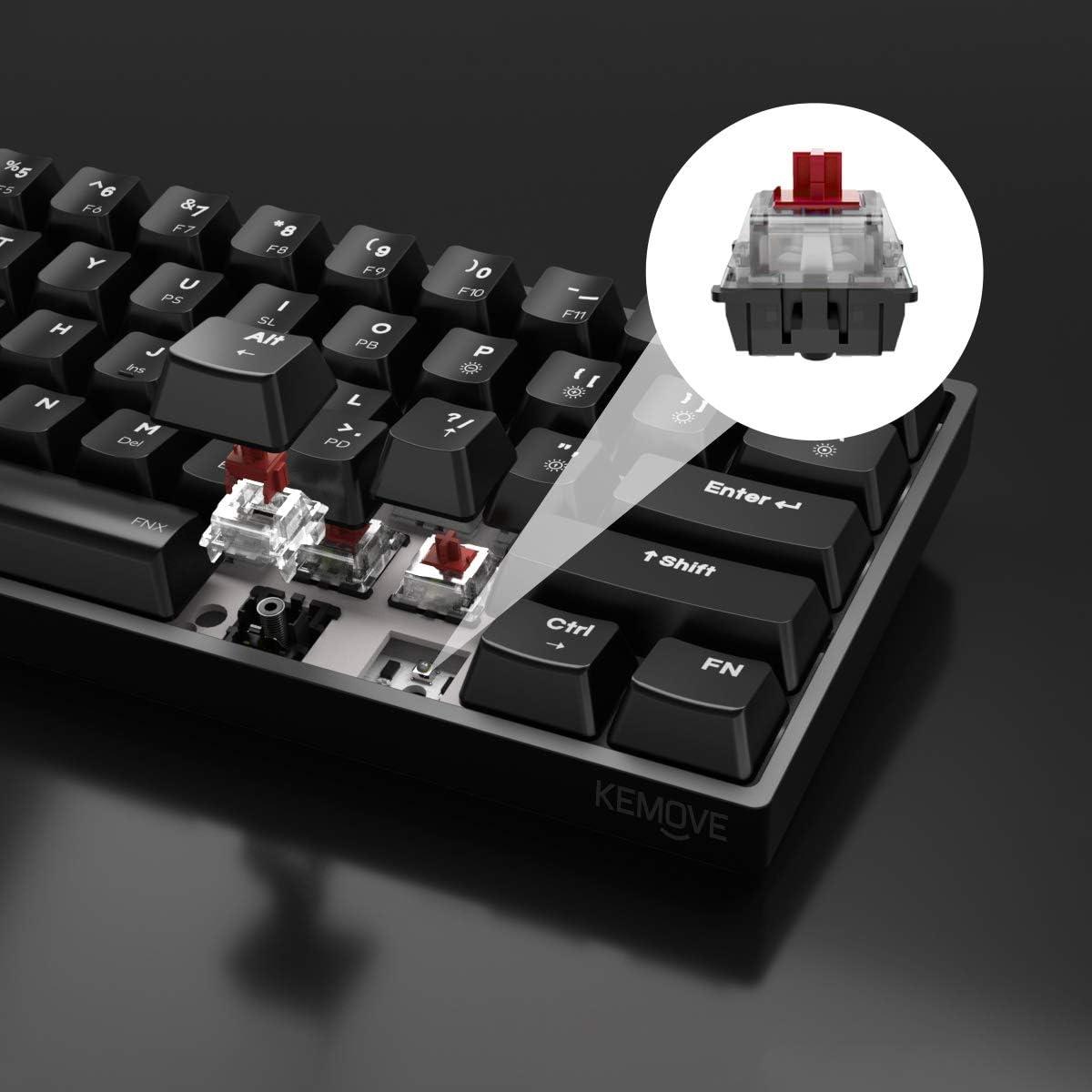 Clavier m/écanique DK61 Red Switch