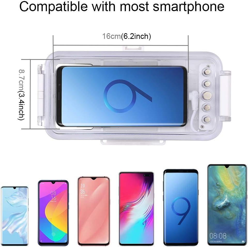 Linghuang Estuche de Buceo móvil Funda estanca para teléfono móvil ...
