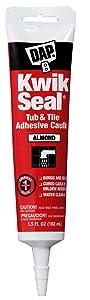 Dap 18013 Kwik-Seal All-Purpose Caulk, 5.5-Ounce, Almond