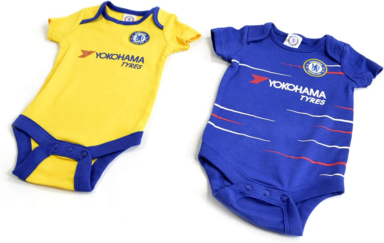 Funny Chelsea Babies Clothing Funny Chelsea FC Baby Grow Sleepsuit
