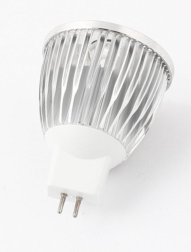 5W MR16 48 mm Diámetro de la cubierta sola bombilla de la lámpara de Shell del aluminio del disipador de calor - - Amazon.com