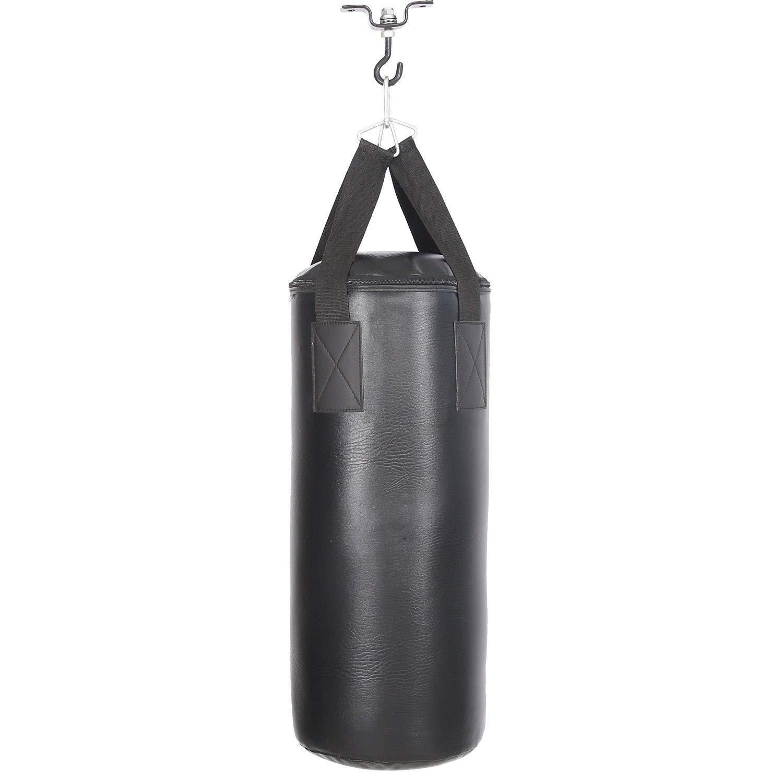 HENGMEI Boxsack Set Sandsack Punchingsack Boxen Erwachsene mit Halterung Handschuhe Wandhalterung