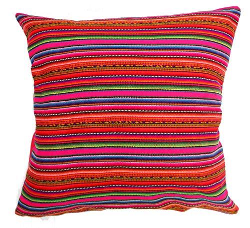 (Art Break Pillow Case Cushion Inka Fabric Cover Decorative Peru Cushion Cover Cotton Jauja Peruvian Style Pillowcase for Sofa 18