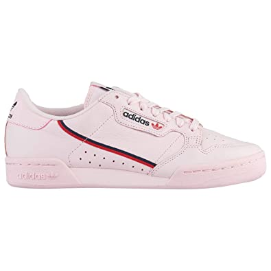 new product 2cfda 2c356 adidas Mens Continental 80 Clear Pink B41679 (Size ...