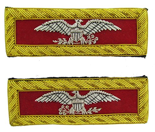 COLONEL Reproduction ARTILLERY Officer Civil War Shoulder Board Rank for - Civil Artillery War Uniforms