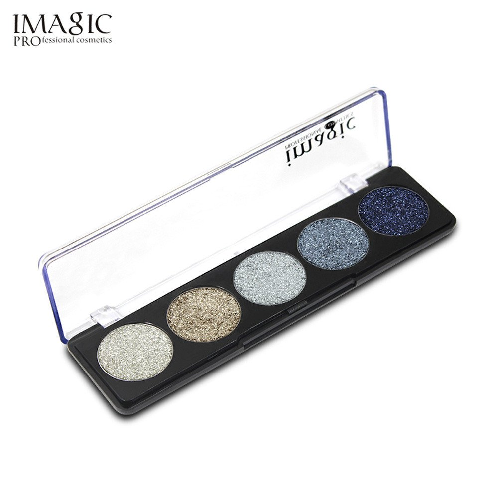 Eyeshadow Palette Makeup Hosamtel 16 Colors Professional Shimmer Natural Cosmetic Eye Shadows (01#)