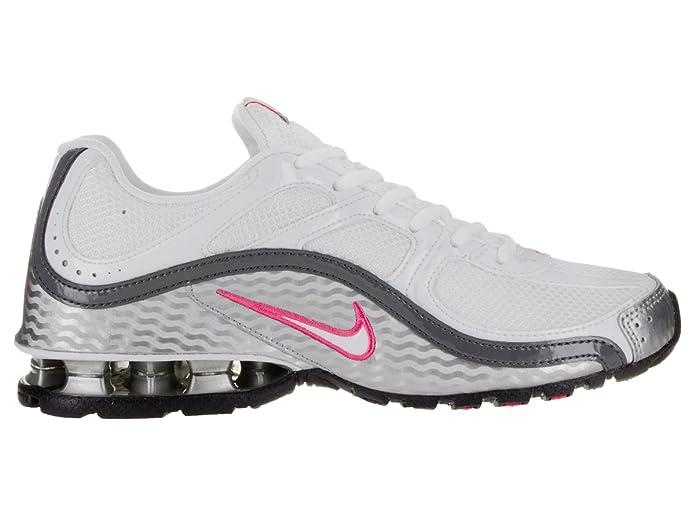 416e4c52a Amazon.com | Nike Women's Reax Run 5, Running, White/Grey, M | Road Running