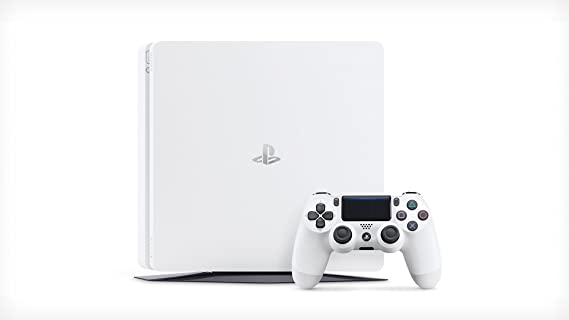 PlayStation 4 Slim (PS4) - Consola de 500 GB, Color Blanco: Amazon ...