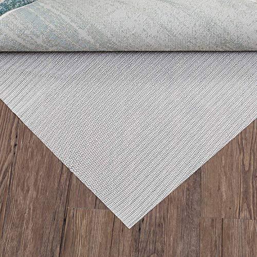 DECOMALL Non Slip Rug Pad Hard Surface Floors Protection 8x10