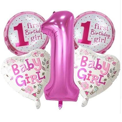 Amazon.com: Yooha 1st Birthday Decorations for Baby Boy or ...