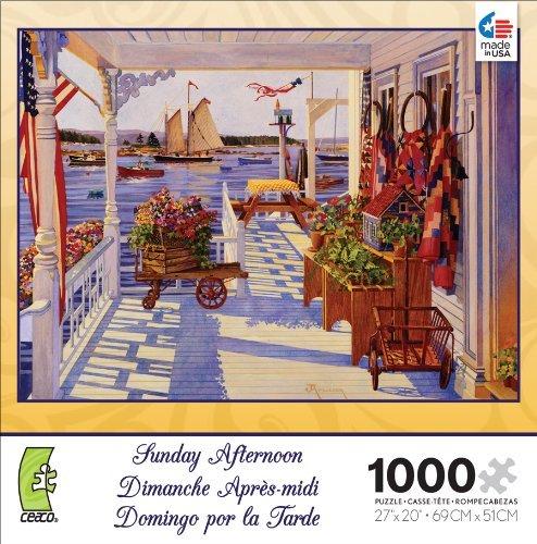 Ceaco Sunday Afternoon Island Inn Jigsaw Puzzle by Ceaco