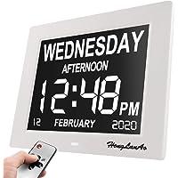 Reloj Calendario Actualización Con Función de Alarma Honglanao