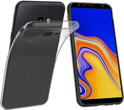 Simpeak Funda Compatible con Samsung Galaxy J4 Plus (6.0 Pulgadas), Funda Transparente Compatible con Samsung J4 Plus Silicona TPU Case: Amazon.es: Electrónica