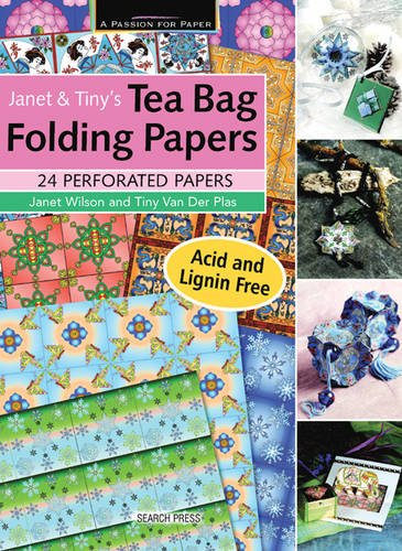 Janet & Tiny's Teabag Folding Papers (A Passion for Paper)