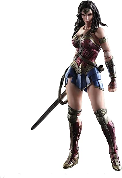 SQUARE ENIX Play Arts Kai Batman vs Superman Dawn of Justice wonder woman figure